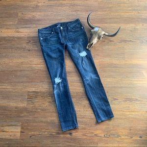 5/$20 Vigoss The Chelsea Destroyed Skinny Jean